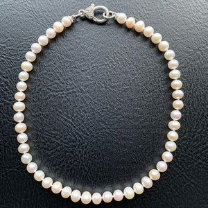Judith Ripka Freshwater Pearl Sterling Necklace